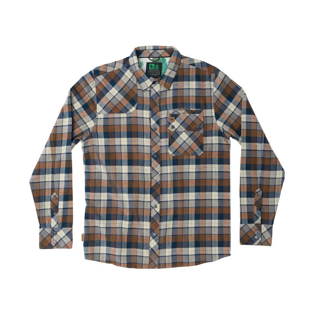 HippyTree Men's Gorman Flannel Shirt NATURAL