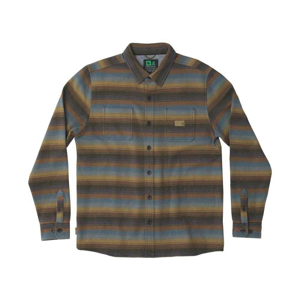 HippyTree Men's Chatsworth Burly Shirt BROWN