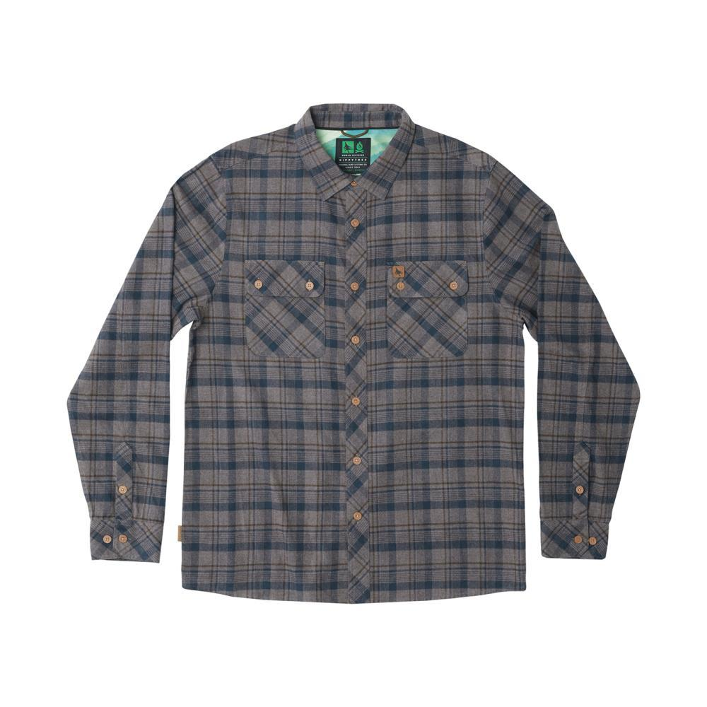HippyTree Men's Baker Flannel Shirt GREY