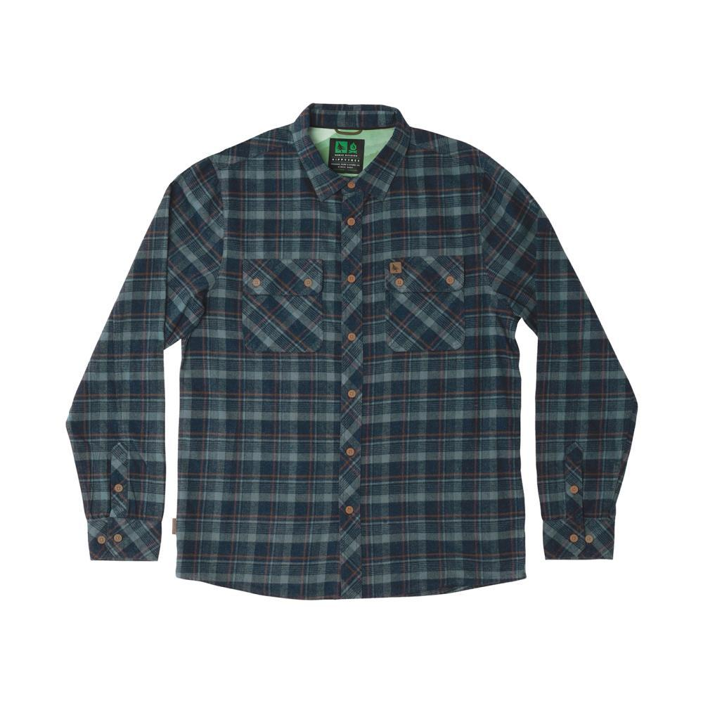 HippyTree Men's Baker Flannel Shirt NAVY