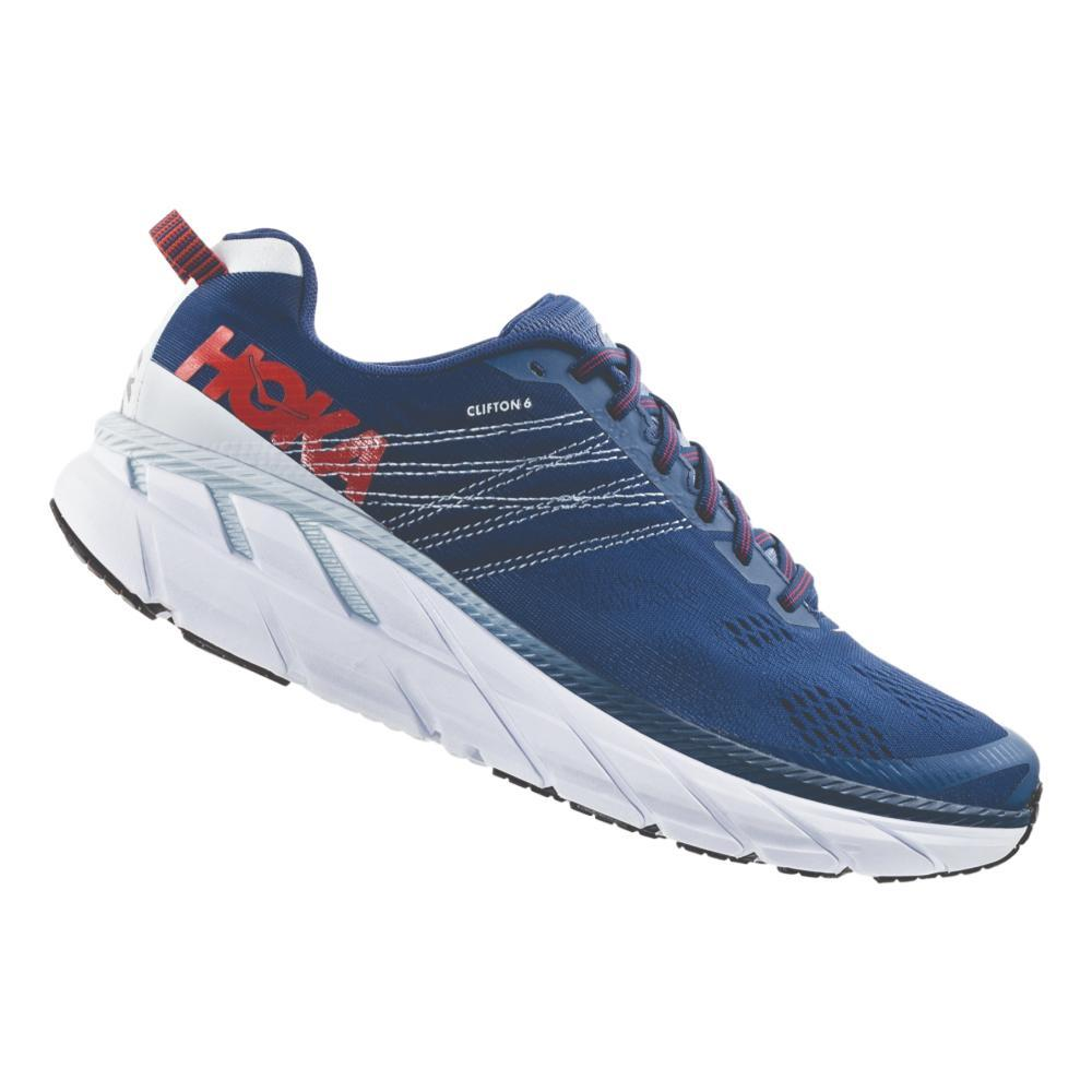 HOKA ONE ONE Men's Clifton 6 Road Running Shoes ENBLU.PLAR_EBPA