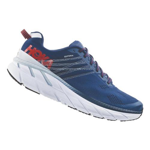 HOKA ONE ONE Men's Clifton 6 Road Running Shoes Enblu.Plar_ebpa