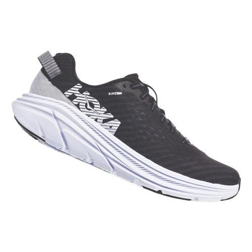 HOKA ONE ONE Men's Rincon Road Running Shoes Blk.Wht_bwht