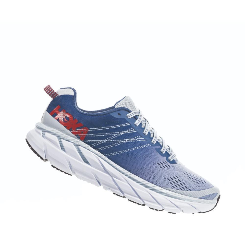 HOKA ONE ONE Women's Clifton 6 Road Running Shoes PLAR.MBLU_PAMB