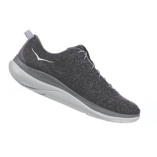 HOKA ONE ONE Women's Hupana Flow Wool Road Running Shoes Dshd.Wdov_dswd