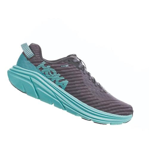 HOKA ONE ONE Women's Rincon Road Running Shoes Chgry.Aqua_cgas