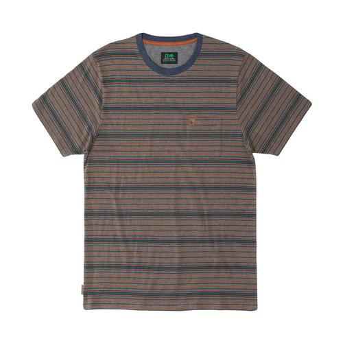 HippyTree Men's Caldwell Tee Hthrbrown