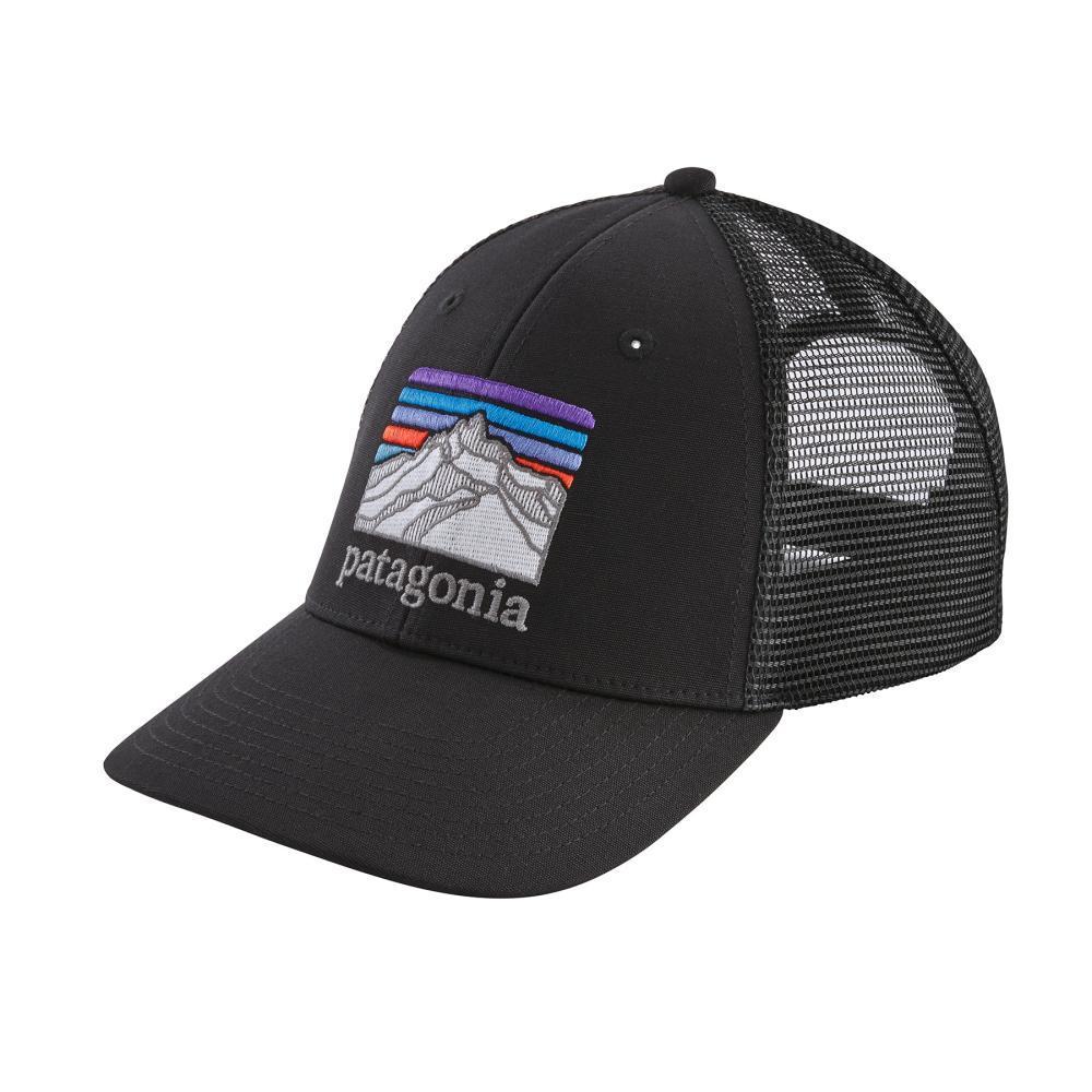 Patagonia Line Logo Ridge LoPro Trucker Hat BLK