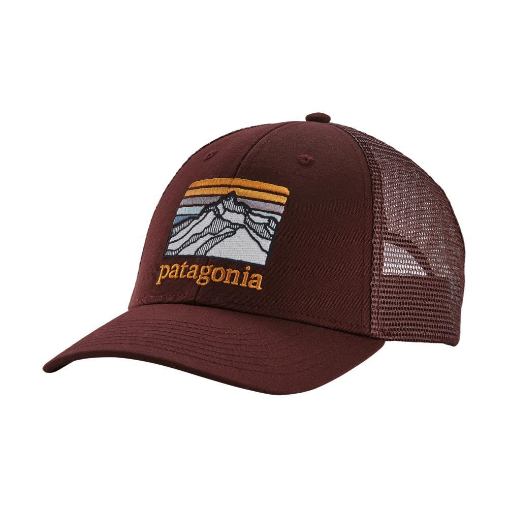 Patagonia Line Logo Ridge LoPro Trucker Hat DAK