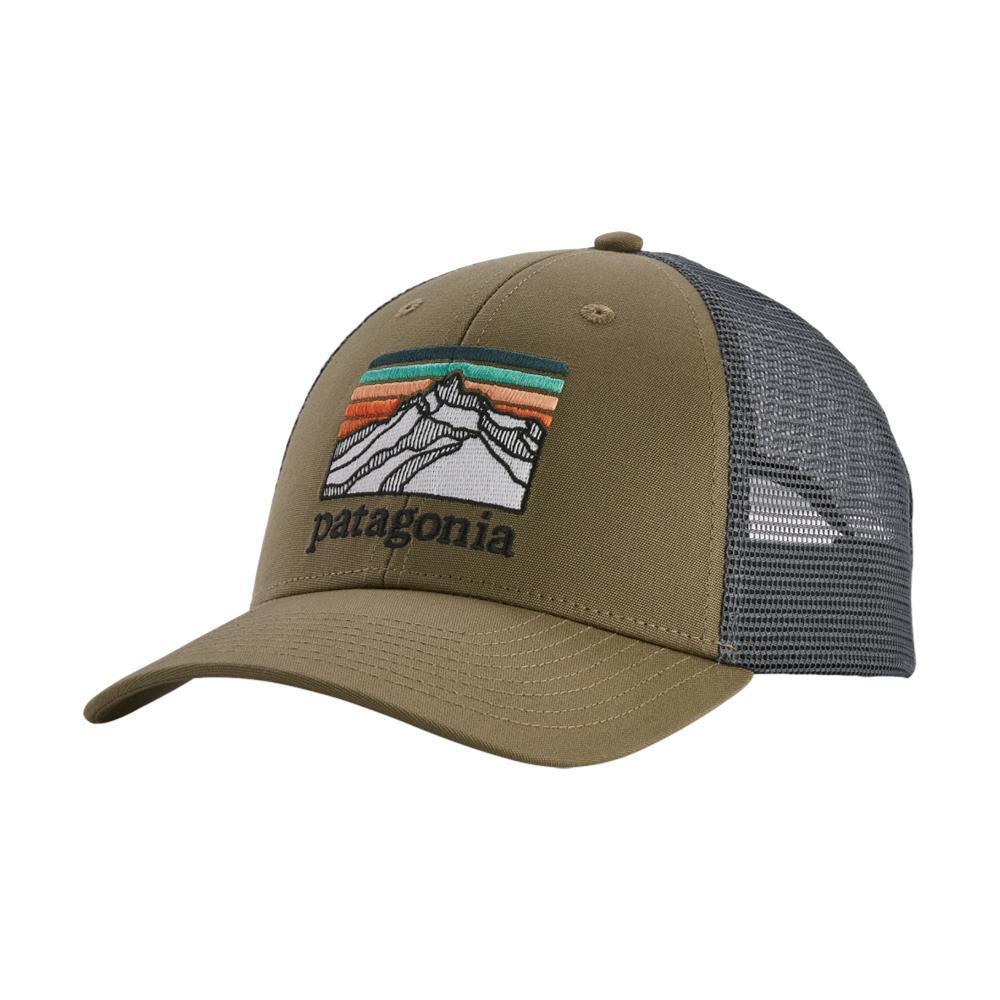 Patagonia Line Logo Ridge LoPro Trucker Hat SKA