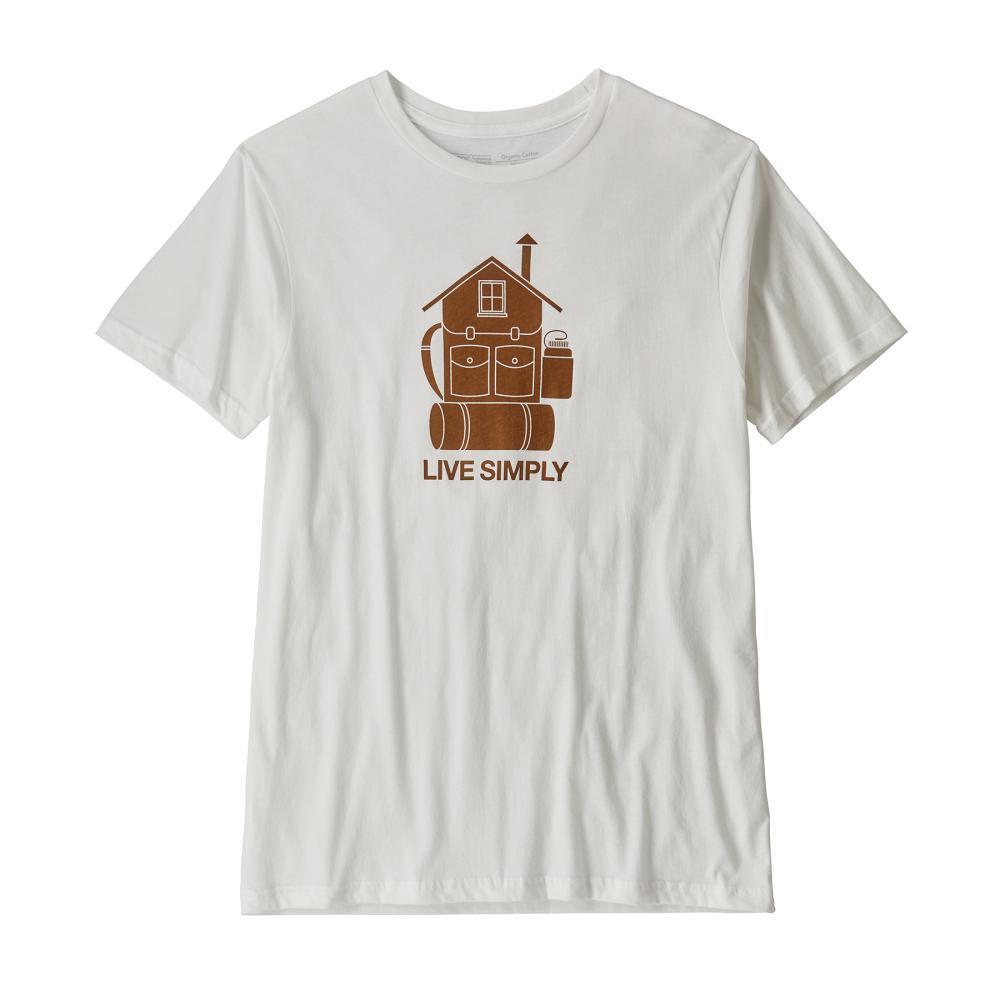 Patagonia Men's Live Simply Home Organic Cotton T-Shirt WHI