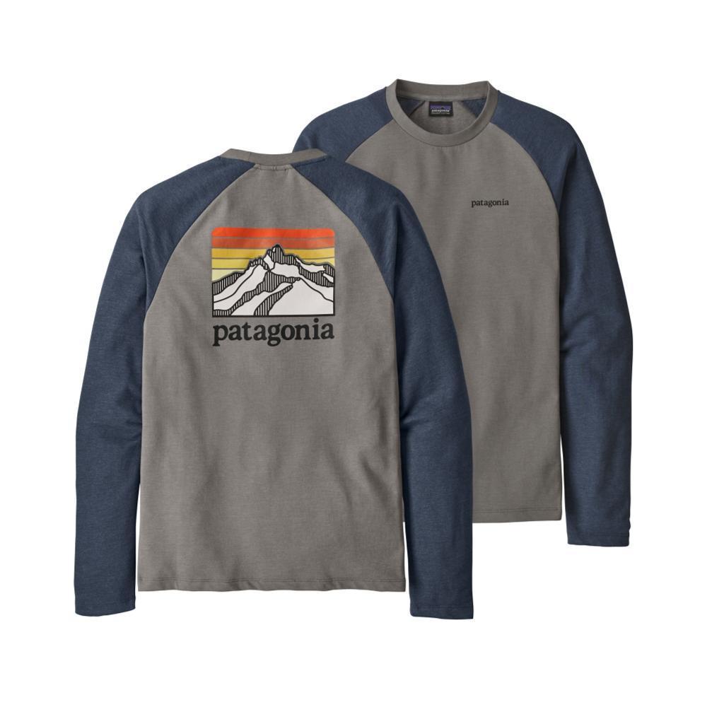 Patagonia Men's Line Logo Ridge Lightweight Crew Sweatshirt FGDB