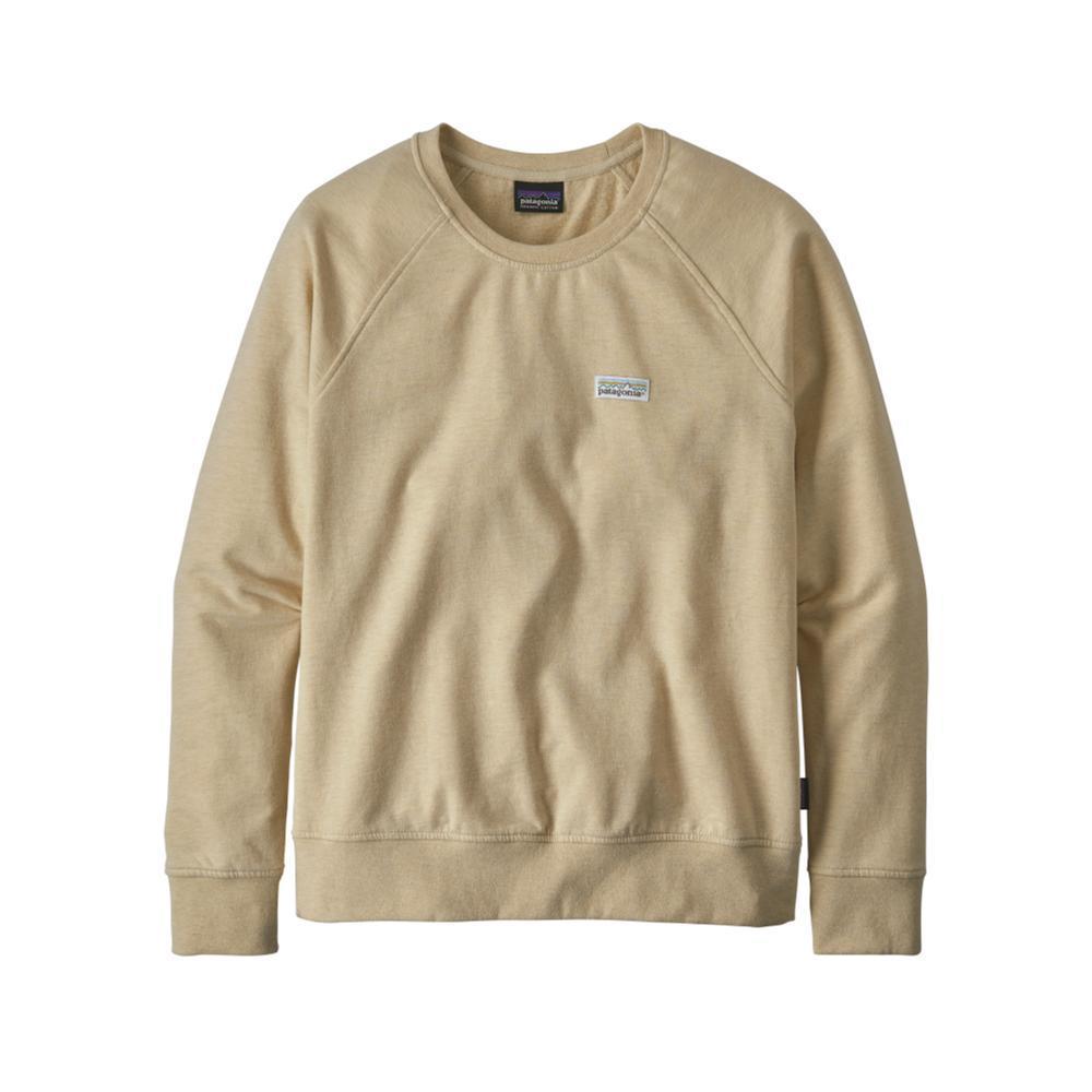Patagonia Women's Pastel P-6 Label Ahnya Crew Sweatshirt WHITE_OYWH