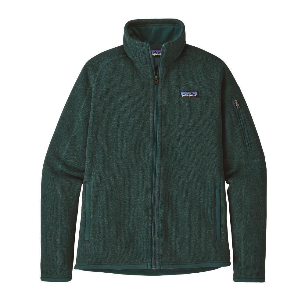 Patagonia Women's Better Sweater Jacket GREEN_PIGR