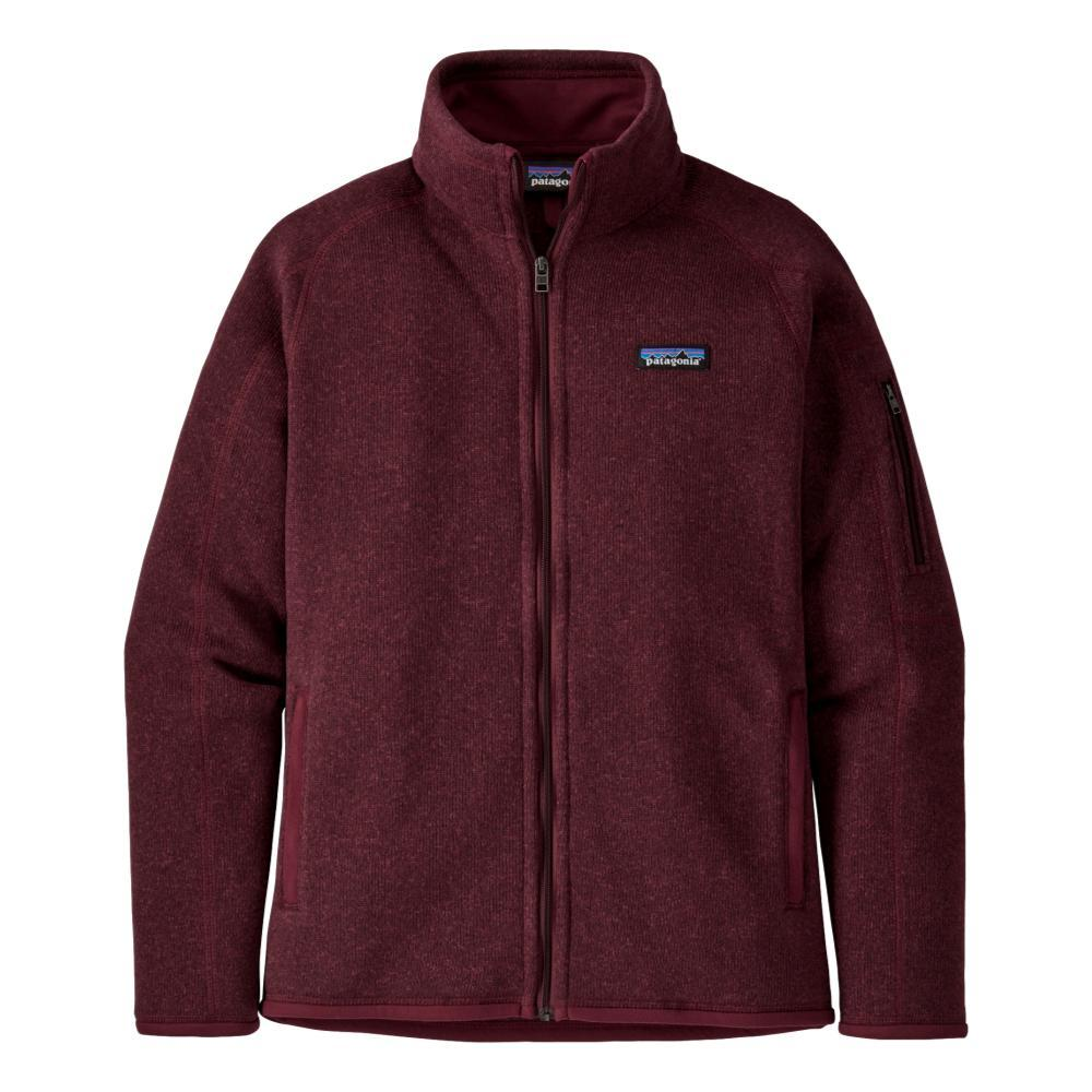 Patagonia Women's Better Sweater Jacket RED_CHIR