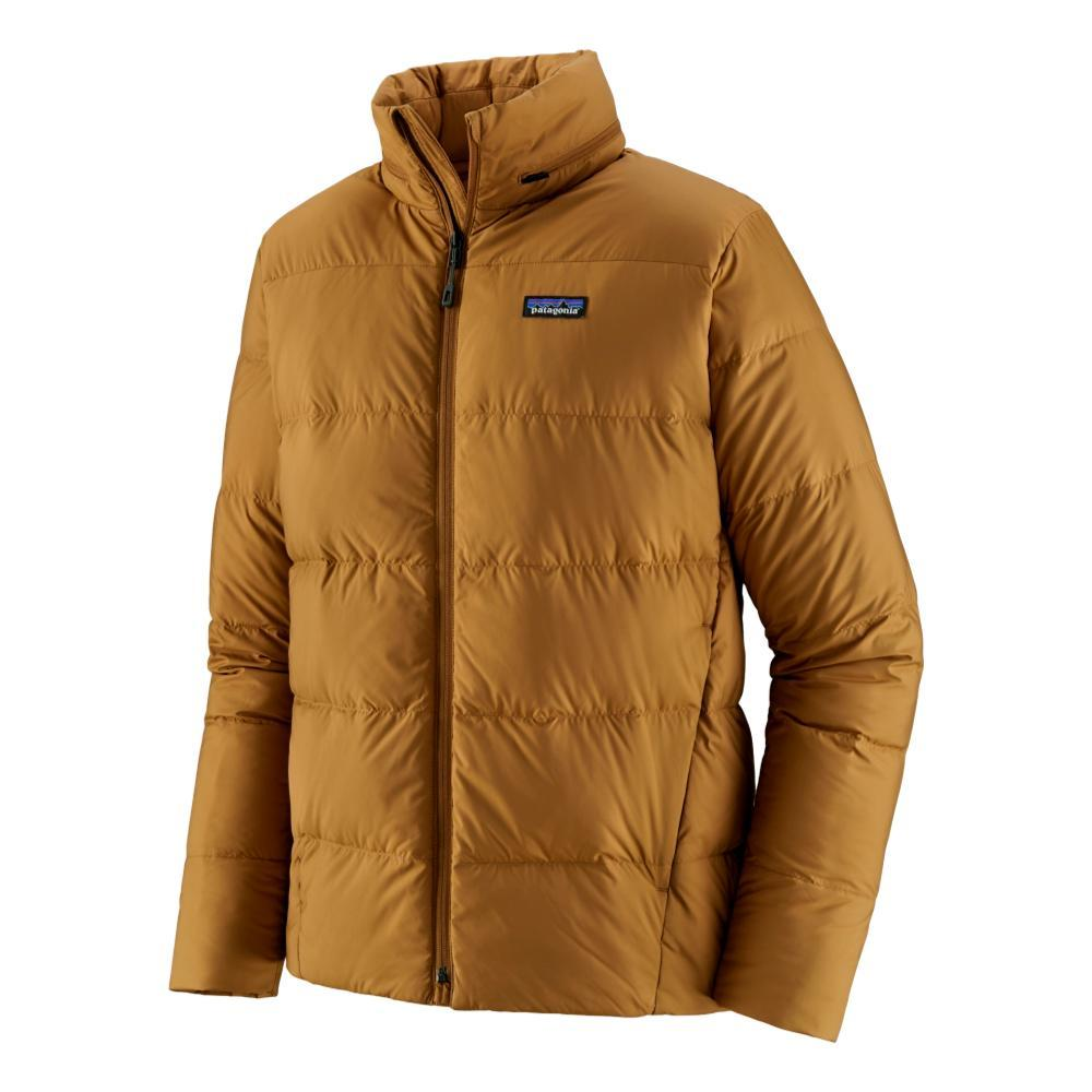 Patagonia Men's Silent Down Jacket BROWN_NESB