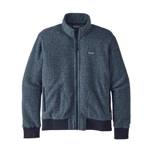 Patagonia Men's Woolyester Fleece Jacket Blue_snbl