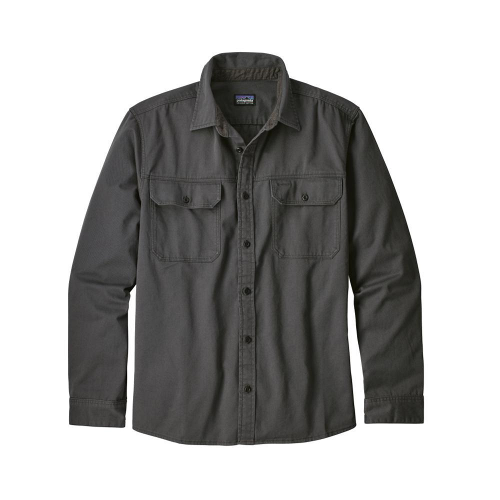 Patagonia Men's Long-Sleeved Four Canyons Twill Shirt GREY_FGE