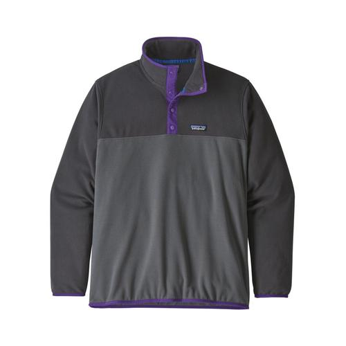 Patagonia Men's Micro D Snap-T Fleece Pullover Grey_fge