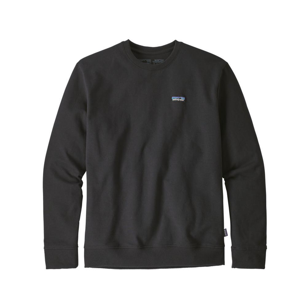 Patagonia Men's P-6 Label Uprisal Crew Sweatshirt BLK_BLK