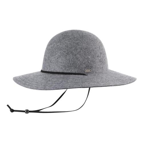 Pistil Women's Tegan Wide Brim Hat Gray_gry