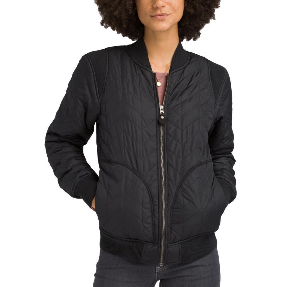 prAna Women's Diva Varisty Jacket BLACK