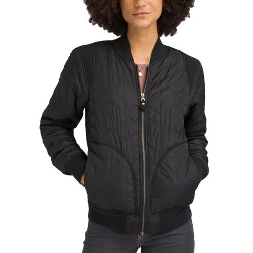 prAna Women's Diva Varisty Jacket Black