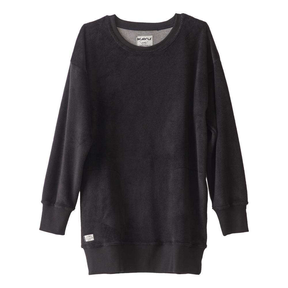 KAVU Women's Riverton Sweatshirt BLACK_20