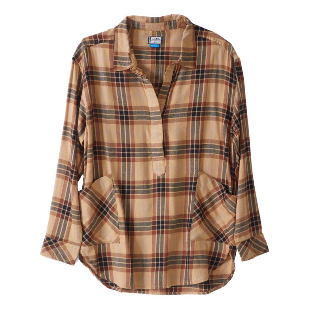 KAVU Women's Melita Shirt HONEY_1080