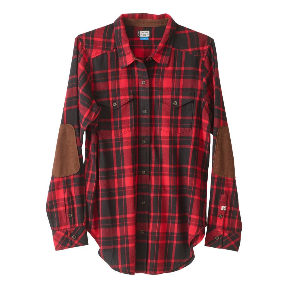 KAVU Women's Billie Jean Shirt CAMPFIRE_812