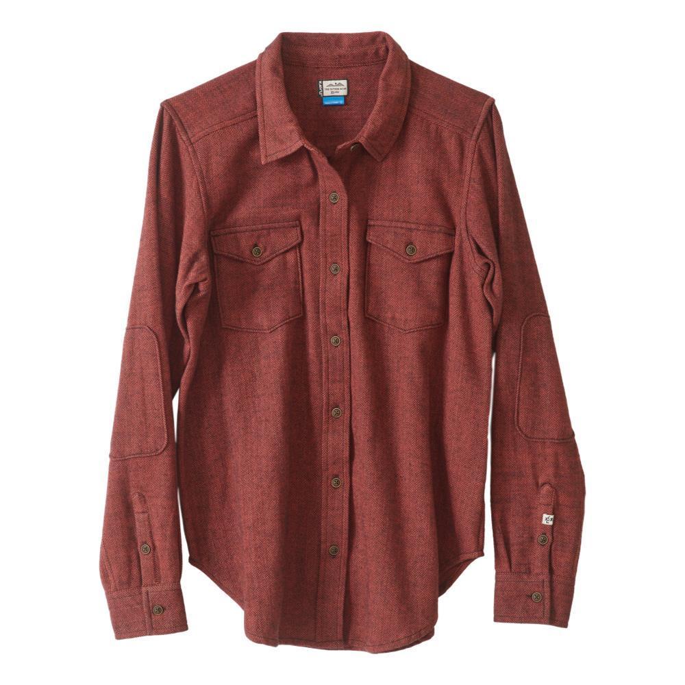 KAVU Women's Hadley Shirt CLAY_697