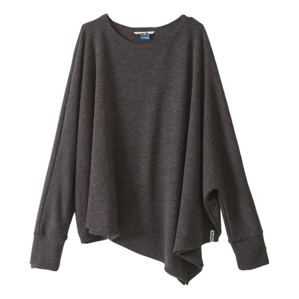 KAVU Women's Wilhelmina Sweater CHARCOAL_93