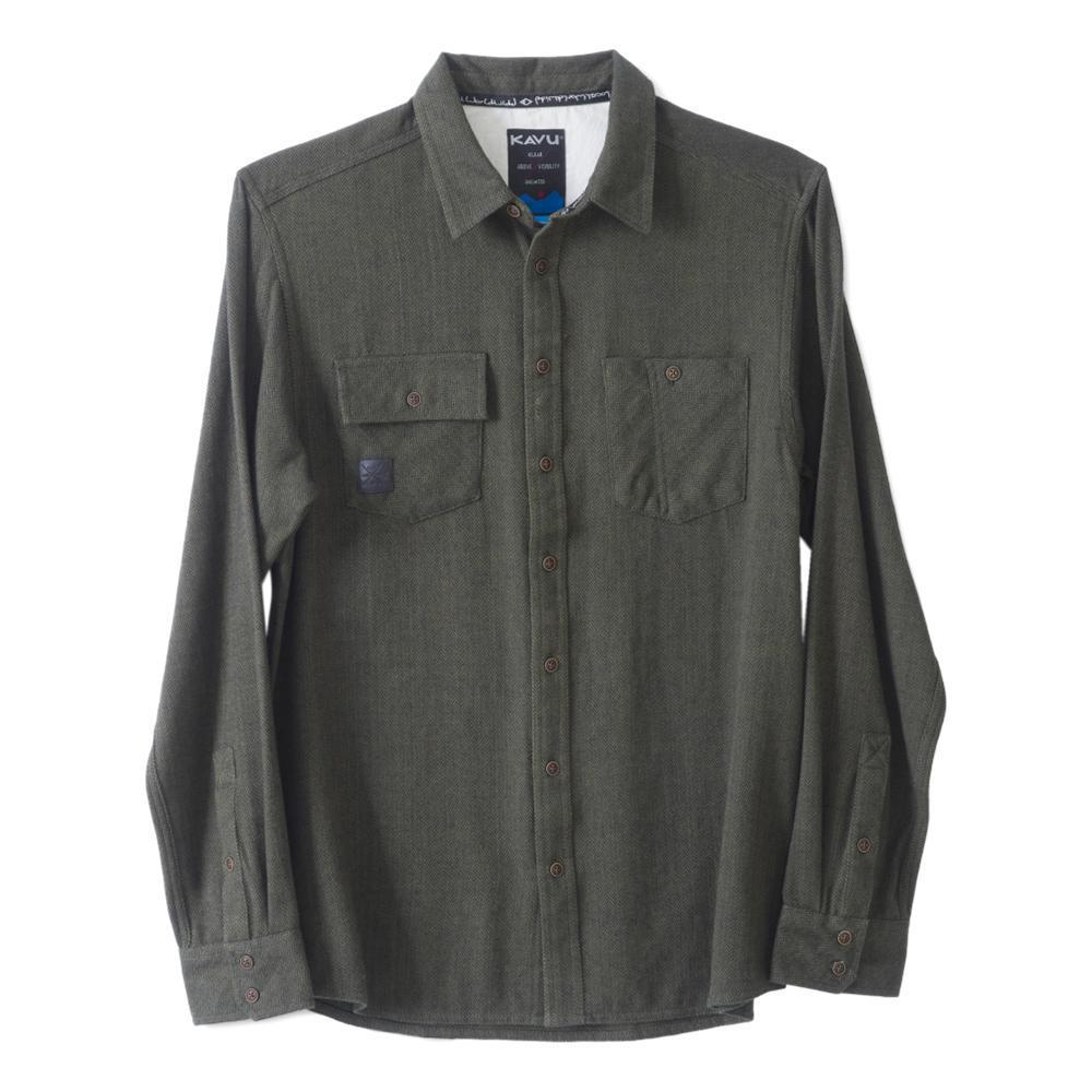 KAVU Men's Langley Shirt PINE
