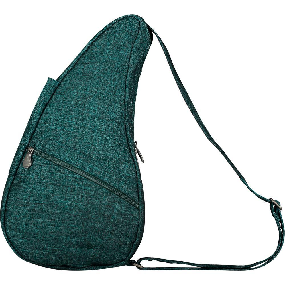 AmeriBag Small Healthy Back Bag Tote Prints and Patterns - Teal Metallic Twill METALLICTT