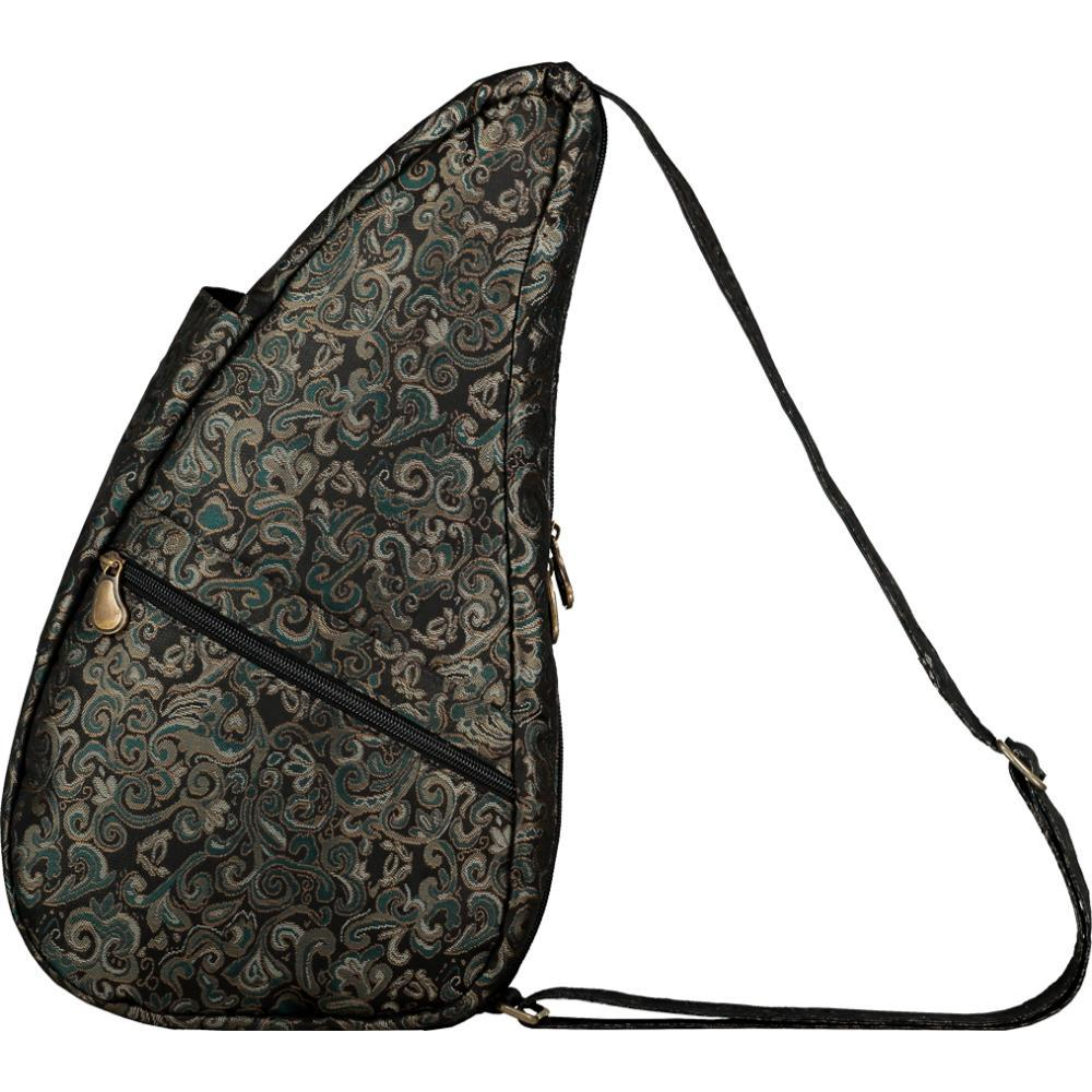 AmeriBag Small Healthy Back Bag Tote Prints and Patterns - Black Fleur BLACKFLEUR