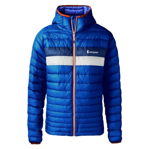 Cotopaxi Men's Fuego Down Hooded Jacket Admiral