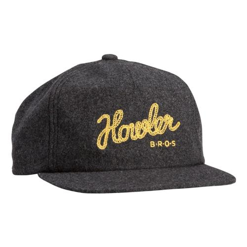 Howler Brothers Howler Tie Down Snapback Hat Greyflanne
