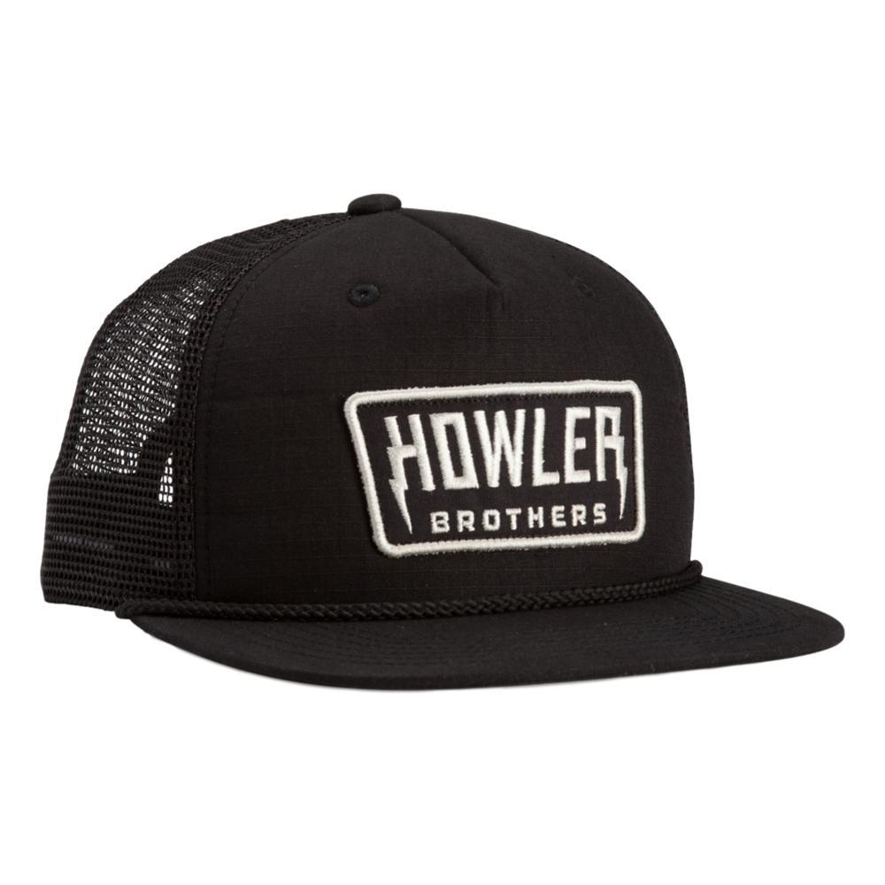 Howler Brothers Hi-Watt Snapback Hat BLACK