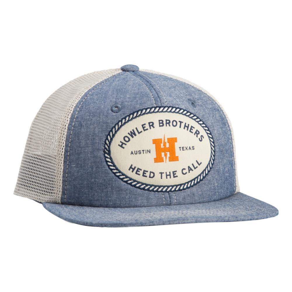 Howler Brothers Howler Oval Snapback Hat CHAMBRAY