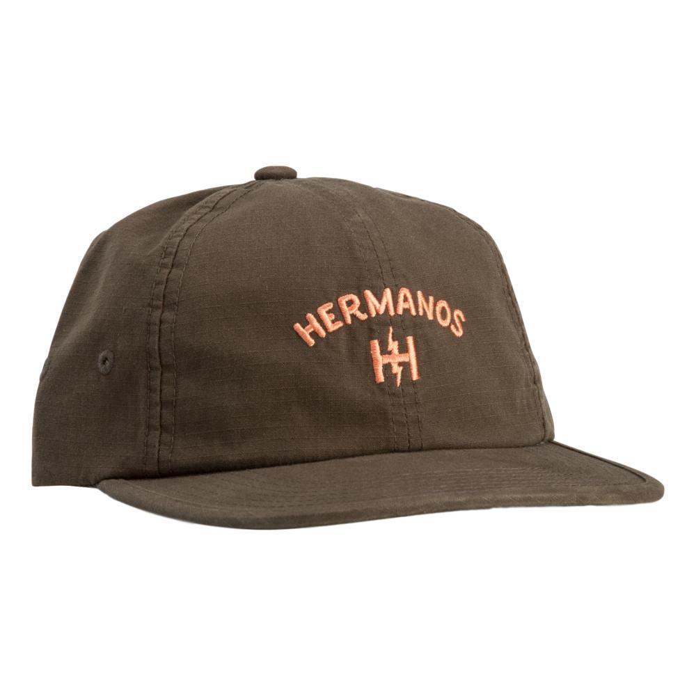 Howler Brothers Hermanos Strapback Hat OLIVE