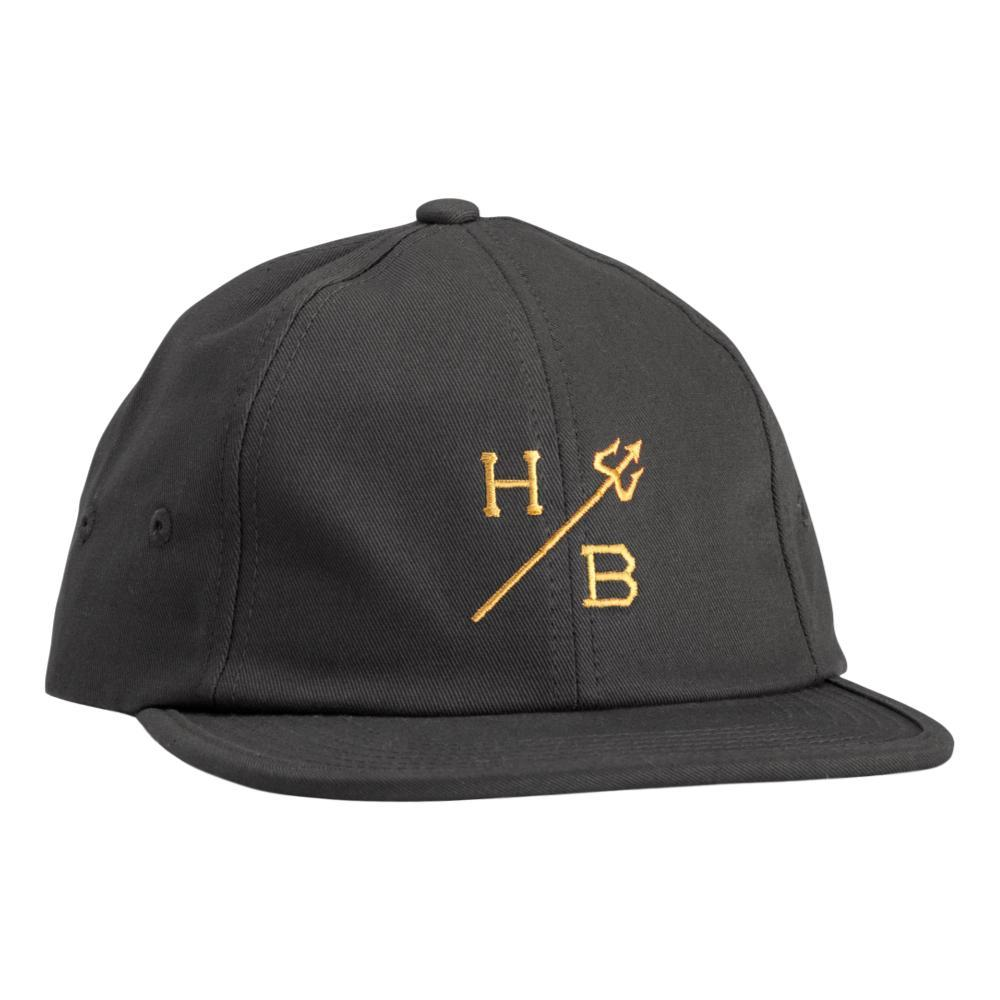 Howler Brothers Trident Strapback Hat GRAPHITE