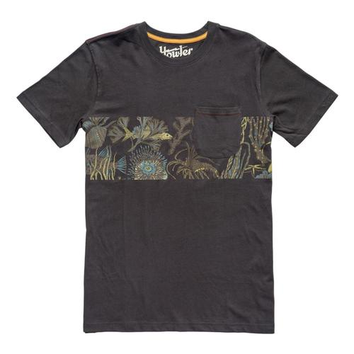 Howler Brothers Men's Exuma Stripe Pocket T-Shirt Antiqueblk