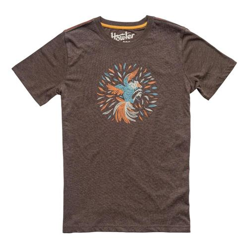 Howler Brothers Men's Gallo Solo T-Shirt Espresso