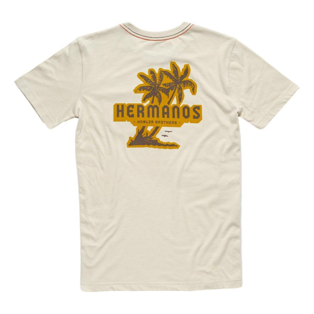 Howler Brothers Men's Isla Hermanos Pocket T-Shirt SAND