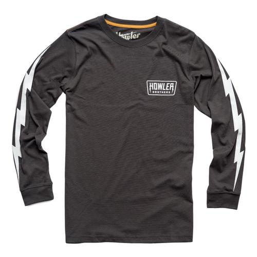 Howler Brothers Men's Hi-Watt Longsleeve T-Shirt Antiqueblk