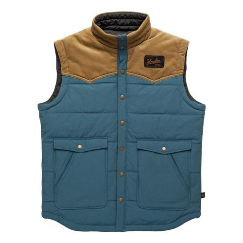 Howler Brothers Men's Rounder Vest Midblue_blu