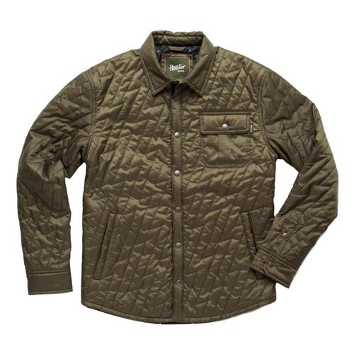 Howler Brothers Men's Lightning Quilted Jacket Fatigue_ftg