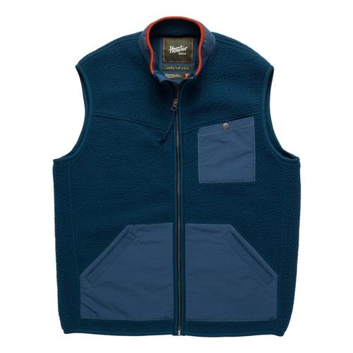 Howler Brothers Men's Chisos Fleece Vest Space_blu
