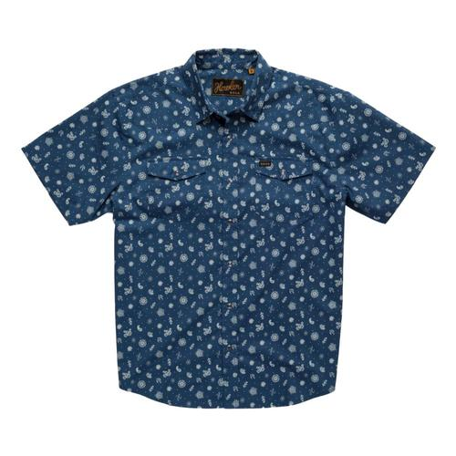 Howler Brothers Men's H Bar B Snapshirt Blue_bpb