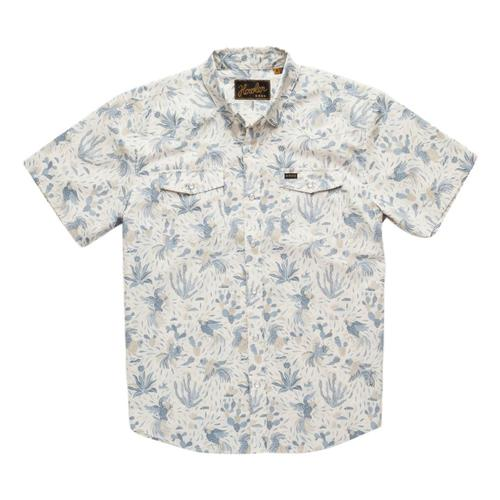Howler Brothers Men's H Bar B Snapshirt White_ggw
